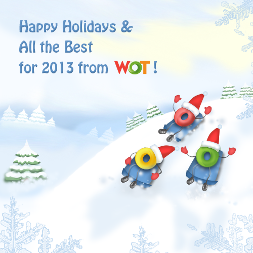Happy Holidays from WOT