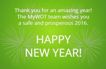 MyWOT happy new year 2016