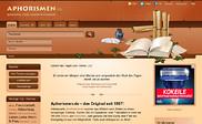 Preview of aphorismen.de