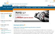 Preview of dev.mysql.com