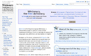 Preview of en.wiktionary.org
