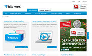 Preview of myhermes.de