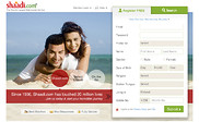 Preview of shaadi.com