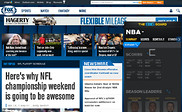 Preview of foxsports.com