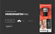 Preview of musixmatch.com