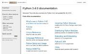 Preview of docs.python.org