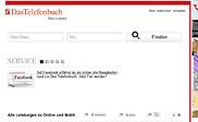 Preview of adresse.dastelefonbuch.de