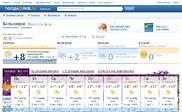 Preview of pogoda.mail.ru