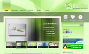Preview of linuxmint.com