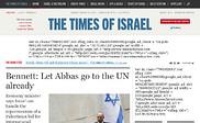 Preview of timesofisrael.com