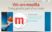 Preview of mozilla.org