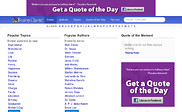 Preview of brainyquote.com