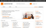 Preview of assistance.orange.fr
