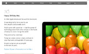 Preview of apple.com