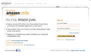 Preview of smile.amazon.com