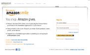 Предварительный просмотр smile.amazon.com