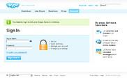 Preview of secure.skype.com