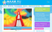 Preview of maam.ru