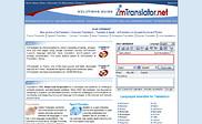 Preview of imtranslator.net