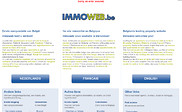 Preview of immoweb.be