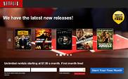 Preview of dvd.netflix.com